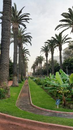 Parc de la Ligue Arabe : Parque de la liga Árabe