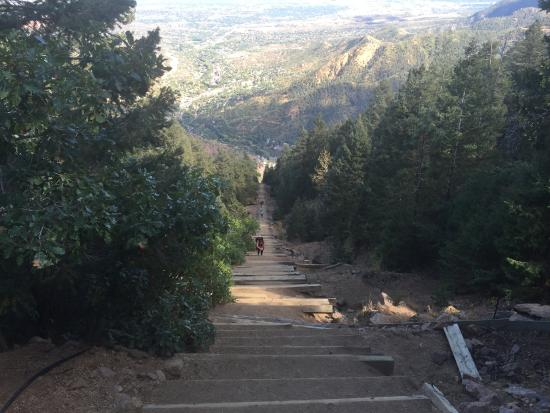 Manitou Springs Incline : summit