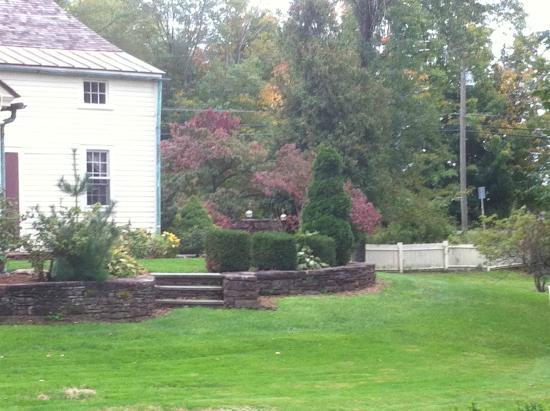 Suffield, كونيكتيكت: backyard