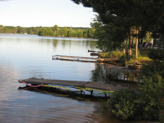 Riverland Lodge & Camp: Lovely water view