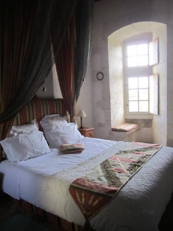 Usseau, فرنسا: Notre chambre
