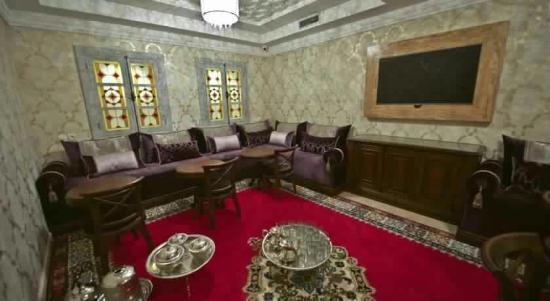 salon marocain - Picture of Hotel Al Amal, Tiznit - TripAdvisor