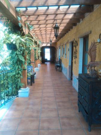 Hotel EuroMaya Suites: corredor