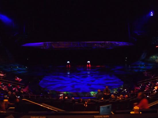 Mystere By Cirque Du Soleil 2nd Tier Seating Section 203