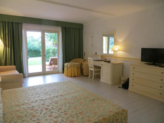 Biodola, Italien: Our room