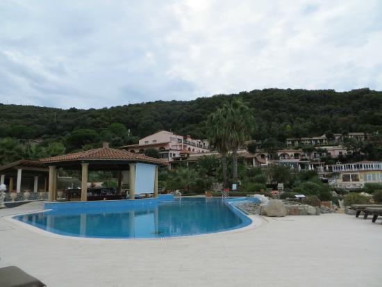 Biodola, Italien: Swim up bar