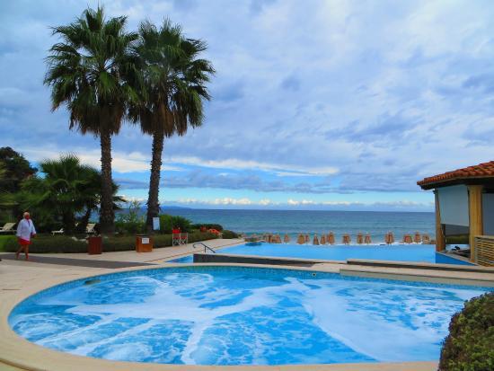 Biodola, Italien: Pool area