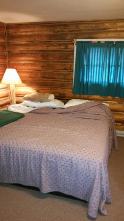 Salmon River Cabins & Motel: Very basic accommodations