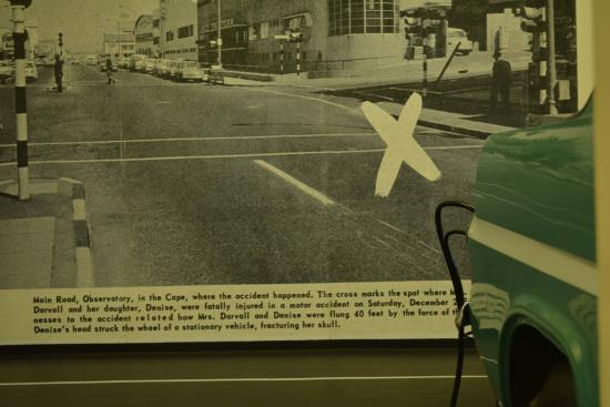 The fatal accident took place here - Picture of Heart of Cape Town