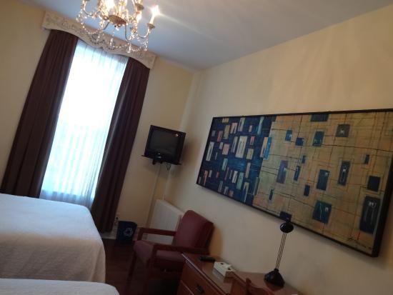 Chateau de l'Argoat : twin room