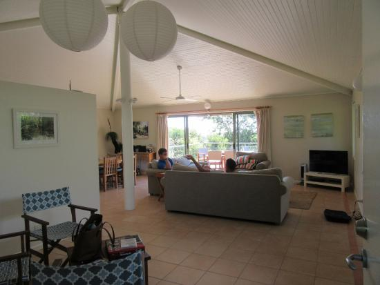 The Retreat Beach Houses Peregian Living Room To Balcony
