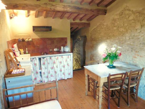 Agriturismo I Pitti: One of our living rooms