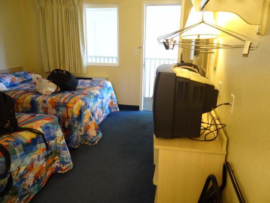 Motel 6 South Lake Tahoe: Bedroom