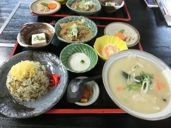 郷土料理 ひめ路, 高菜めし定食