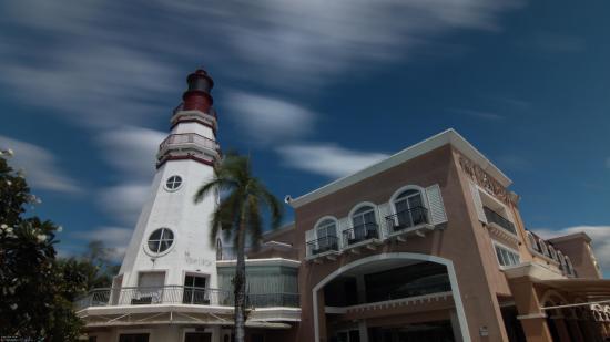 The Lighthouse Marina Resort: Long exposure of Lighthouse Marina Resort, Subic Bay