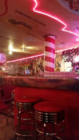 The Sixties Diner: Our American dinner