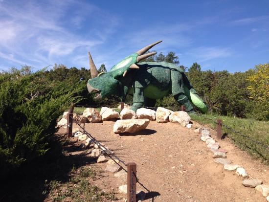George S. Eccles Dinosaur Park: Large variety of things to see