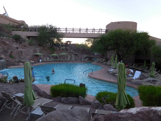 One of the hot tubs picture of phoenix marriott tempe at for Tempe swimming pool