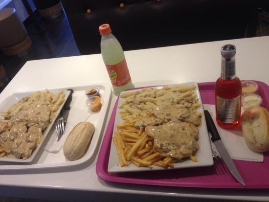 Bagnolet, Francia: Assiette comme vous le voyais très consistante. Pour y aller je vous conseille d'avoir le ventre