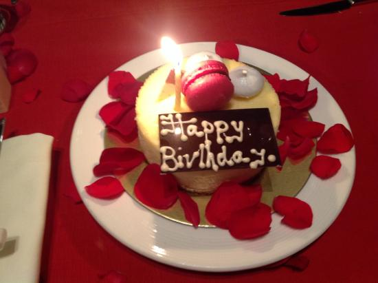 Trident Hyderabad My Birthday Cake Specially Made For Me Cheese