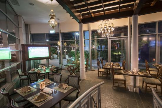 Ayam Zaman Lebanese Restaurant: Watch the latest football matches at our Large HD Screens