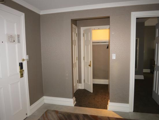 Looking At Closet Door To Connecting Room Left And Bedroom
