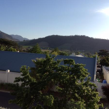 Ashbourne House Guest House: View from a very private deck