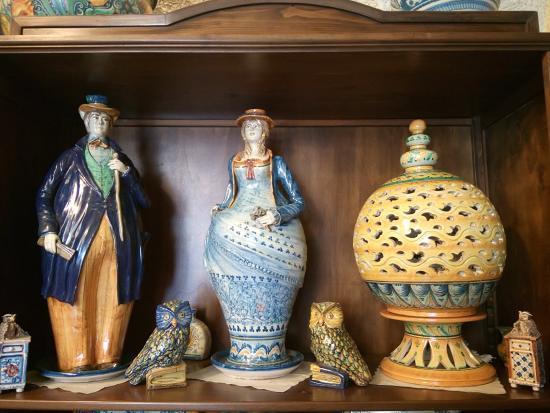 Lampadari In Ceramica Di Caltagirone.Lampadari Misti Foto Di Ceramiche Artistiche Giuseppe Di Martino