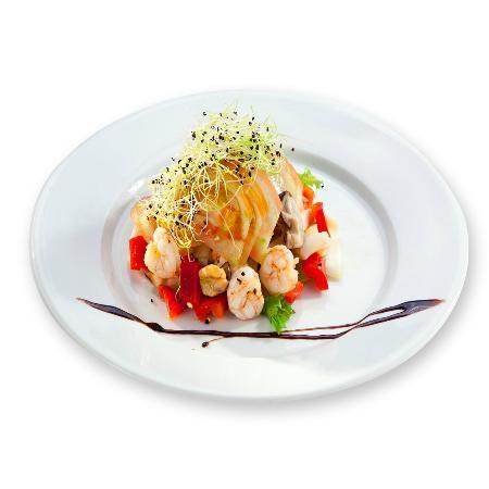 Restaurante Juan Abril: Timbal de mariscos