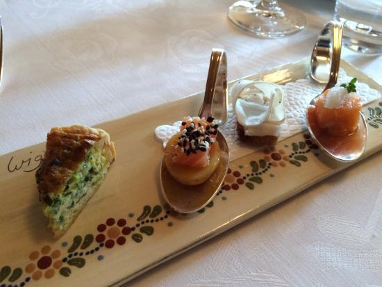 Amuse bouche picture of restaurant adelboden schwyz for Amuse bouche cuisine