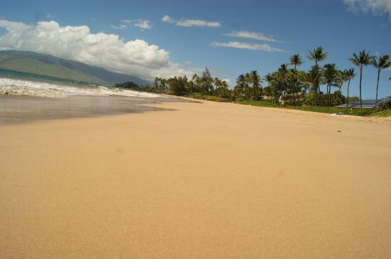 Strand beim Maui Coast Hotel