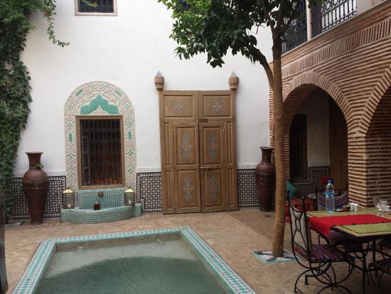 Courtyard Picture Of Riad Fleur D Orient Marrakech Tripadvisor