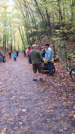 Creeper Trail Bike Rental: Along the Creeper Trail!
