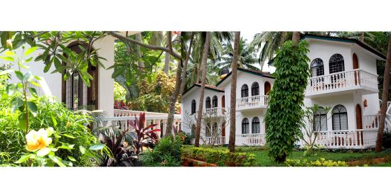 Albuquerque Holiday Villas Goa: Beach Hideaway with Loads of Greenery