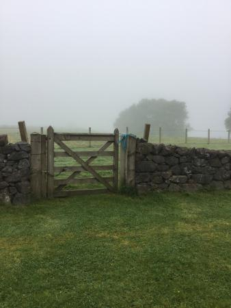 Kilmore, UK: Back Garden and Gate Access to Sheep Meadow