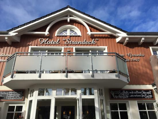 Hotel Restaurant Cafe Strandeck Prerow