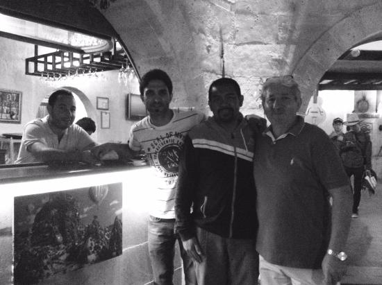 Kale Terrasse: With Murad,Murad's Father and Brother