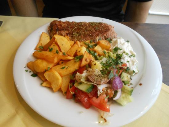 Restaurant Mythos Fisch und Lamm: Bifteki