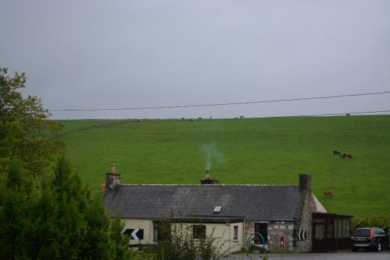 Glenlivet, UK: View from our window