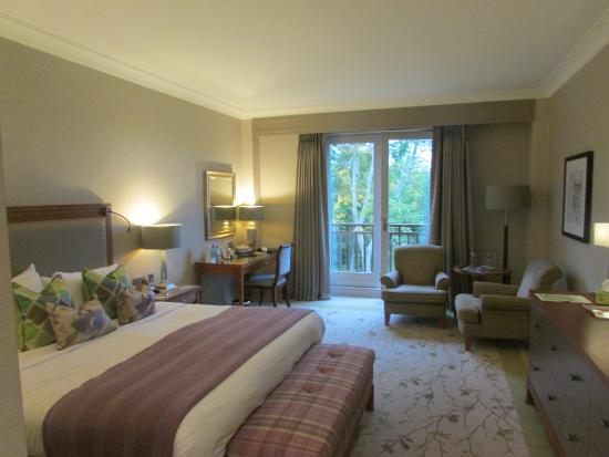 Druids Glen Golf Resort : Golf course view room with juliette balcony