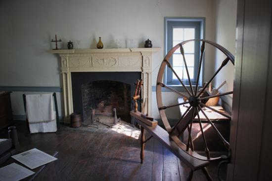 inside a bedroom - Picture of Old Stone House, Washington DC ...