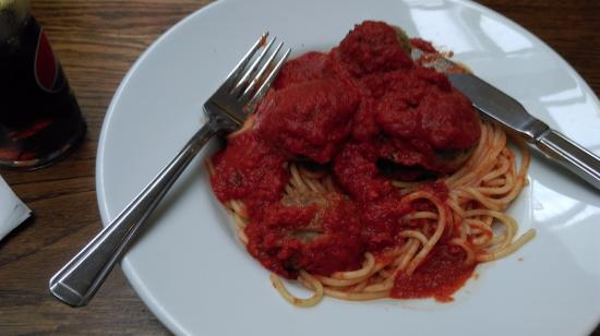 Forte's Cafe Restaurant: Spaghetti with Meatballs