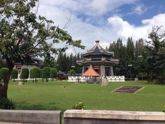 Three Kingdoms Park: We spent 3 hours at here. Such good place here is beautiful and quiet.