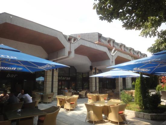 Hotel Grand : Terrasse des Hotels