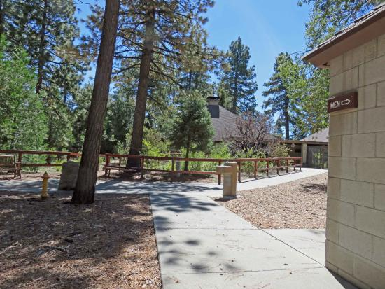 Idyllwild Nature Center:  large well maintained restrooms