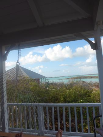 Neptune Villas: view of chalk sound from our balcony