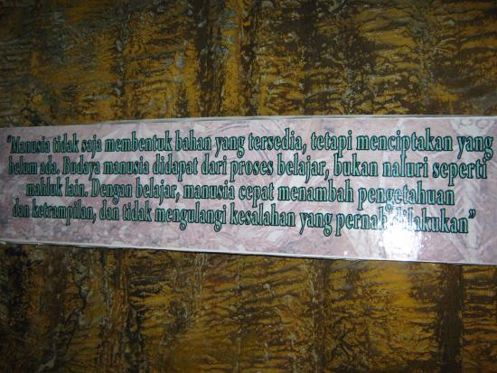 Kata Kata Mutiara Picture Of Sangiran Museum And Early Man Site