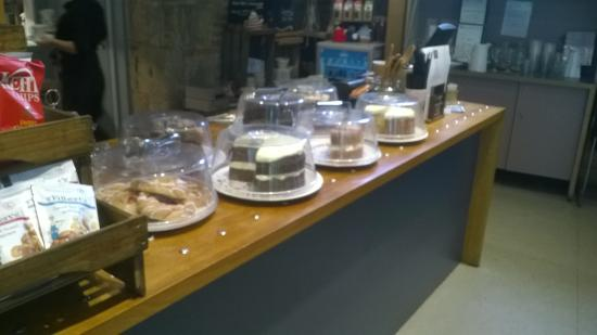 The Bishop's Table : good selection of cakes