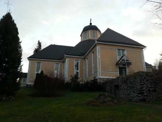 Parikkala, Finland: Деревянная церковь Паррикалы
