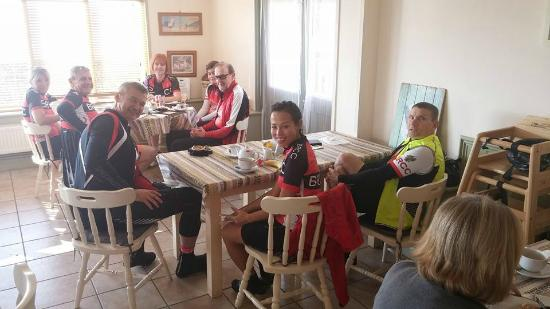 Gamlingay, UK: Mid Ride Break